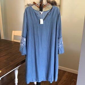 Cato Chambray Dress